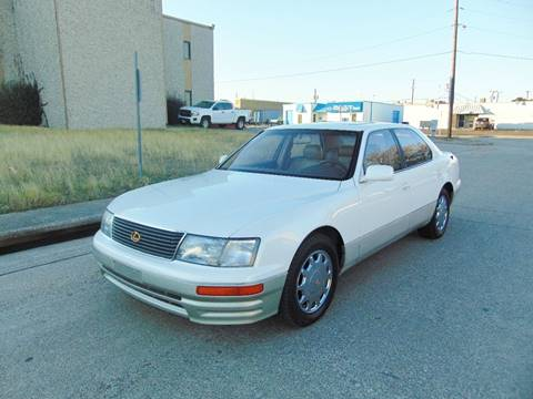 1995 Lexus LS 400 for sale at Image Auto Sales in Dallas TX