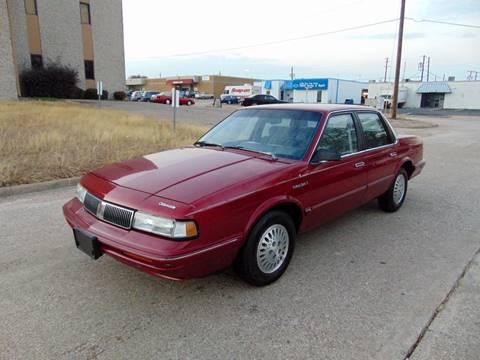 1993 Oldsmobile Cutlass Ciera for sale at Image Auto Sales in Dallas TX