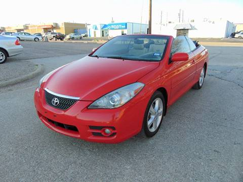 2008 Toyota Camry Solara for sale at Image Auto Sales in Dallas TX