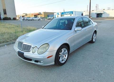 2005 Mercedes-Benz E-Class for sale at Image Auto Sales in Dallas TX
