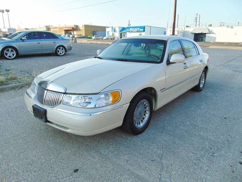 2000 Lincoln Town Car Cartier In Dallas Tx Image Auto Sales