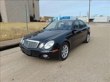 2008 Mercedes-Benz E-Class for sale at Image Auto Sales in Dallas TX