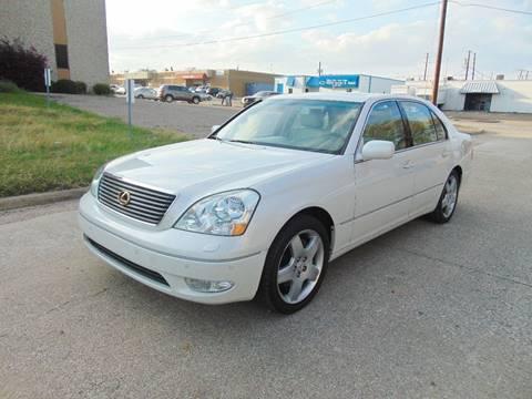 2002 Lexus LS 430 for sale at Image Auto Sales in Dallas TX