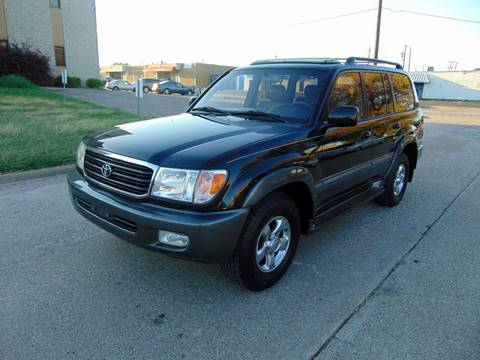 2001 Toyota Land Cruiser for sale at Image Auto Sales in Dallas TX