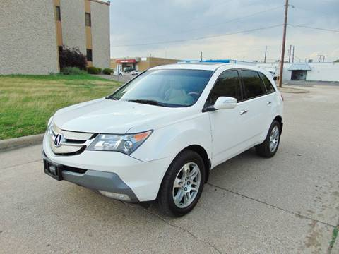 2008 Acura MDX for sale at Image Auto Sales in Dallas TX