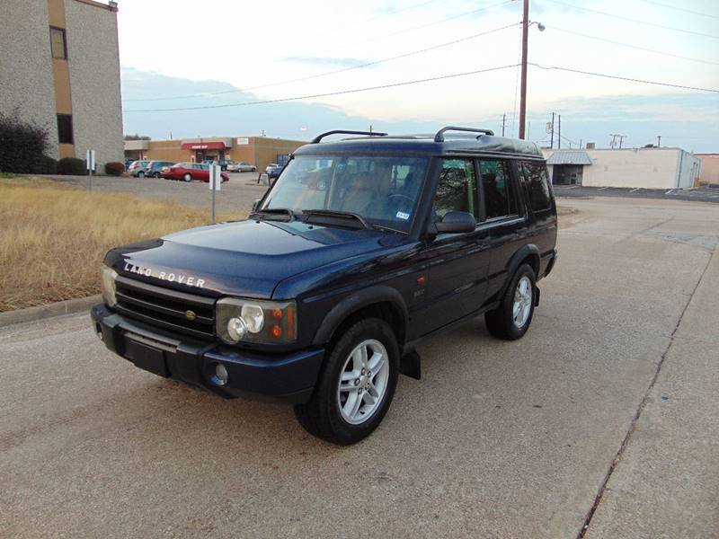 2003 land rover discovery se in dallas tx image auto sales. Black Bedroom Furniture Sets. Home Design Ideas