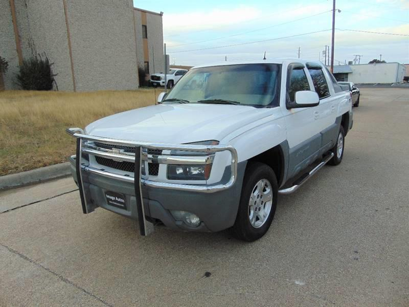 2002 Chevrolet Avalanche for sale at Image Auto Sales in Dallas TX