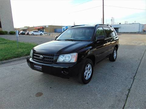 2003 Toyota Highlander for sale at Image Auto Sales in Dallas TX