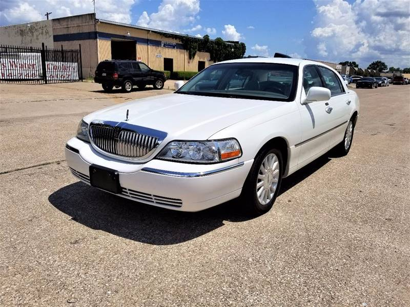 2003 Lincoln Town Car Signature In Dallas Tx Image Auto Sales