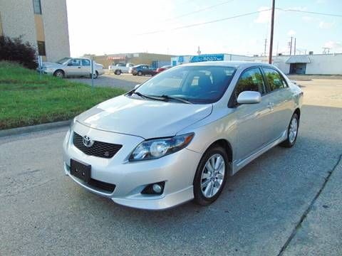 2010 Toyota Corolla for sale at Image Auto Sales in Dallas TX