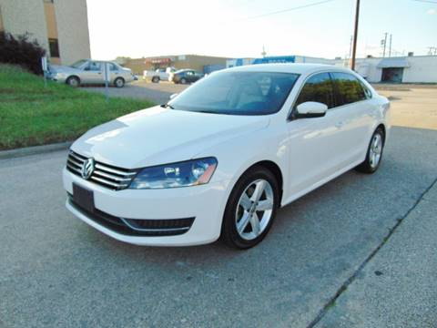 2013 Volkswagen Passat for sale at Image Auto Sales in Dallas TX