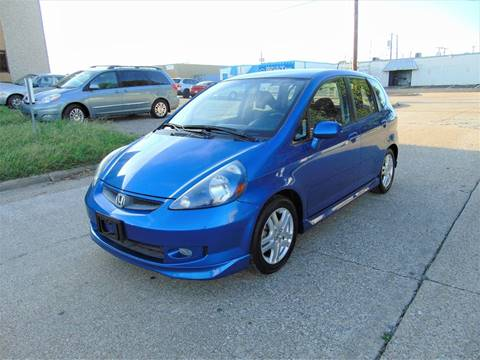 2008 Honda Fit for sale at Image Auto Sales in Dallas TX