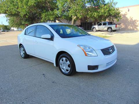 2007 Nissan Sentra for sale at Image Auto Sales in Dallas TX