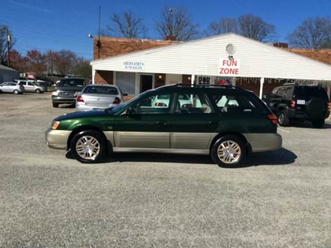 2002 Subaru Outback for sale in Kernersville, NC