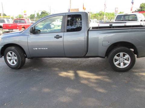 2014 Nissan Titan for sale in Houston, TX