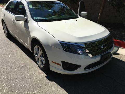2012 Ford Fusion for sale at J & K Auto Sales in Agoura Hills CA