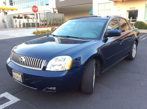 2006 Mercury Montego for sale at J & K Auto Sales in Agoura Hills CA