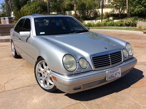 1998 Mercedes-Benz E-Class for sale at J & K Auto Sales in Agoura Hills CA