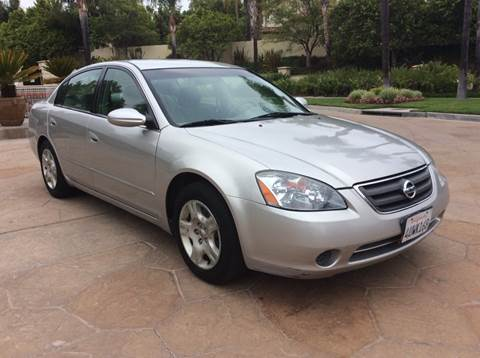 2002 Nissan Altima for sale at J & K Auto Sales in Agoura Hills CA