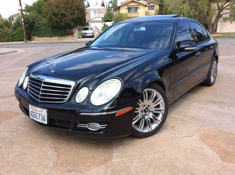 2008 Mercedes-Benz E-Class for sale at J & K Auto Sales in Agoura Hills CA
