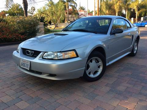 2000 Ford Mustang for sale at J & K Auto Sales in Agoura Hills CA
