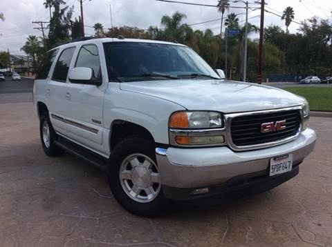 2005 GMC Yukon for sale at J & K Auto Sales in Agoura Hills CA