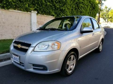 2008 Chevrolet Aveo for sale at J & K Auto Sales in Agoura Hills CA