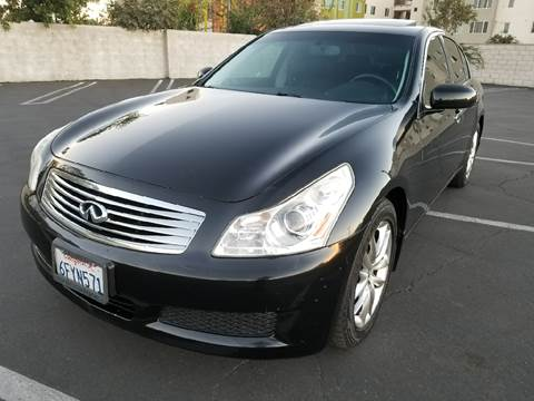 2008 Infiniti G35 for sale at J & K Auto Sales in Agoura Hills CA