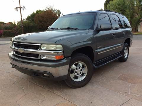 2001 Chevrolet Tahoe for sale at J & K Auto Sales in Agoura Hills CA