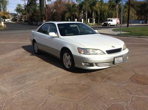 2000 Lexus ES 300 for sale at J & K Auto Sales in Agoura Hills CA