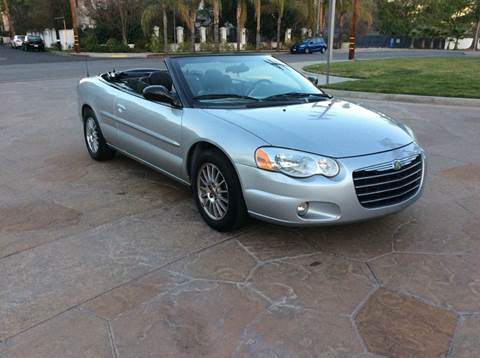 2004 Chrysler Sebring for sale at J & K Auto Sales in Agoura Hills CA