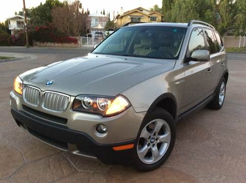 2007 BMW X3 for sale at J & K Auto Sales in Agoura Hills CA