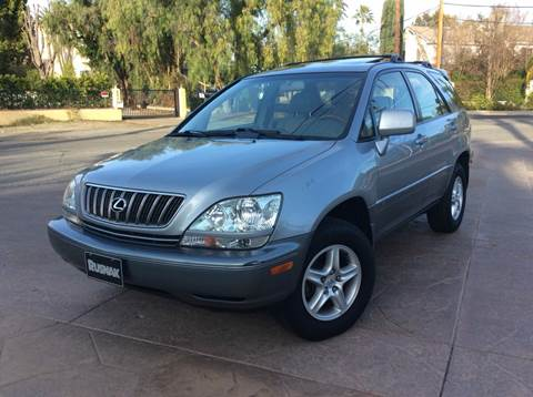 2002 Lexus RX 300 for sale at J & K Auto Sales in Agoura Hills CA