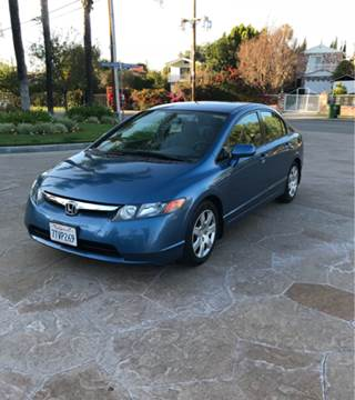 2006 Honda Civic for sale at J & K Auto Sales in Agoura Hills CA