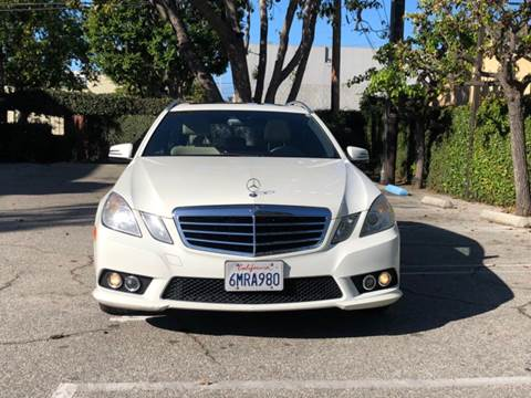 2011 Mercedes-Benz E-Class for sale at J & K Auto Sales in Agoura Hills CA