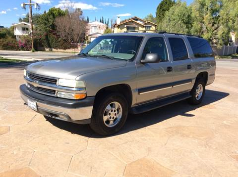 2002 Chevrolet Suburban for sale at J & K Auto Sales in Agoura Hills CA