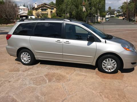 2007 Toyota Sienna for sale at J & K Auto Sales in Agoura Hills CA