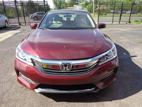 2017 Honda Accord for sale in Detroit, MI
