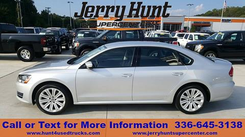 2015 Volkswagen Passat for sale in Lexington, NC