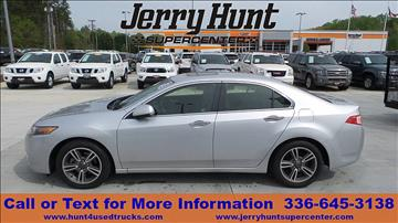 2012 Acura TSX for sale in Lexington, NC