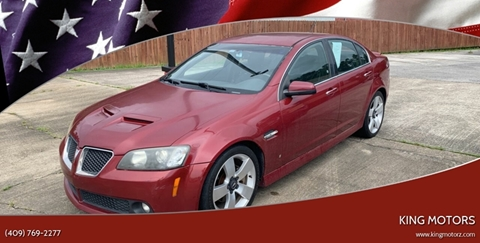 2009 Pontiac G8 for sale in Vidor, TX