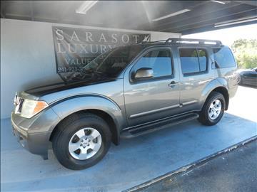 2007 Nissan Pathfinder for sale in Sarasota, FL