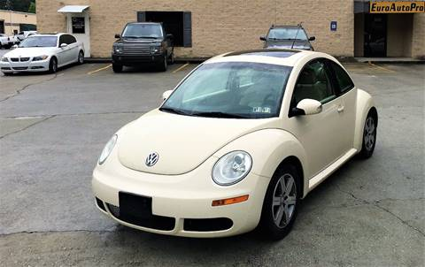 2006 Volkswagen New Beetle for sale at EURO AUTO PRO in Liburn GA