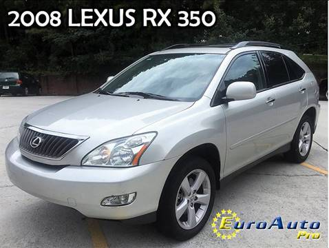 2008 Lexus RX 350 for sale in Liburn GA