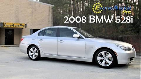 2008 BMW 5 Series for sale at EURO AUTO PRO in Liburn GA