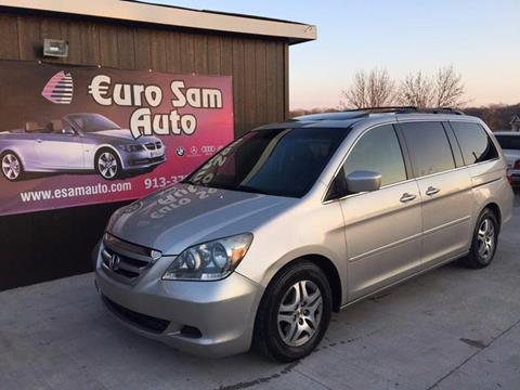 2006 Honda Odyssey for sale at Euro Auto in Overland Park KS