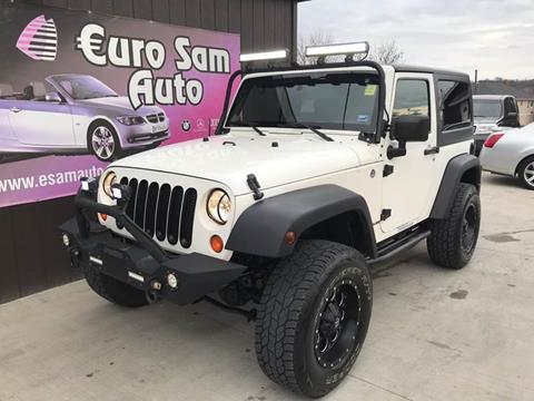 2007 Jeep Wrangler for sale at Euro Auto in Overland Park KS