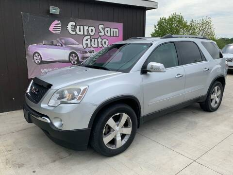 2012 GMC Acadia for sale at Euro Auto in Overland Park KS