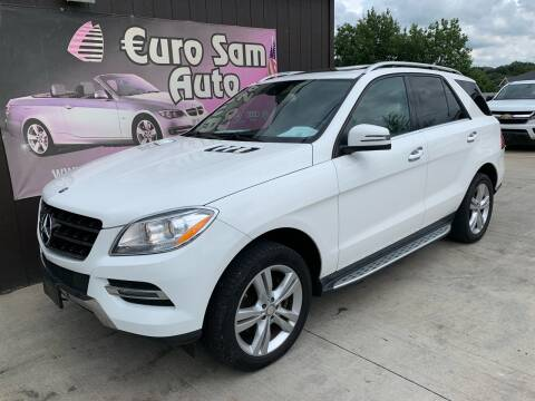 2014 Mercedes-Benz M-Class for sale at Euro Auto in Overland Park KS