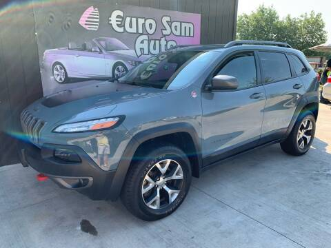 2014 Jeep Cherokee for sale at Euro Auto in Overland Park KS